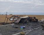 В Калмыкии столкнулись «Газель» и грузовик, два человека погибли