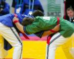 Калмыцкие спортсмены взяли три «бронзы» на Кубке России по борьбе на поясах