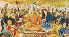 Народные обычаи и традиции в эпосе «Джангар»