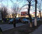 В центре Элисты столкнулись пять автомобилей