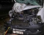 В Тульской области столкнулись микроавтобус из Калмыкии и грузовик