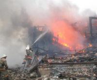 В Октябрьском районе на животноводческой стоянке произошел пожар
