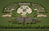 3D-проект историко-туристического центра «Темуджин»