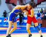 Спортсменка из Калмыкии выступит на ЧМ по борьбе среди студентов