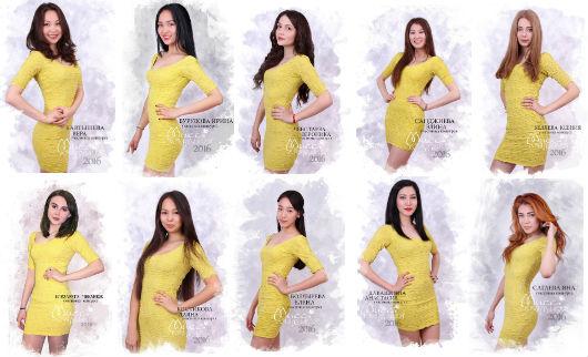 Участницы конкурса «Мисс Калмыкия 2016»
