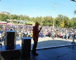 Более двух тысяч человек приняли участие в митинге в Элисте