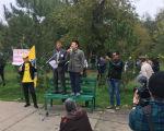 В Элисте оштрафовали двух пенсионеров за участие в митинге