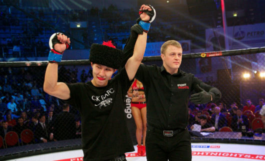 Победа Сумьяна Настинова на турнире Fight Nights