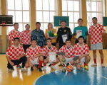 Завершился турнир по мини-футболу посвященный памяти Валерия Сангаджиева